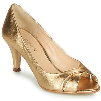 Schuhe Damen Pumps Jonak DIANE Goldfarben