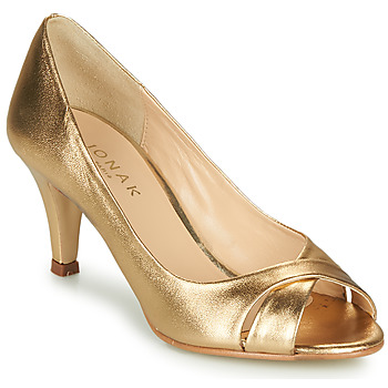 Schuhe Damen Pumps Jonak 11200 Goldfarben