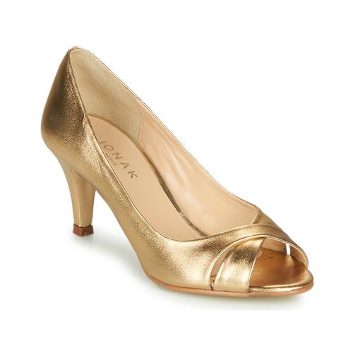 Jonak DIANE Goldfarben  Schuhe Pumps Damen 68
