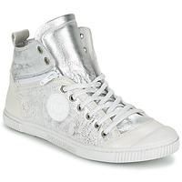Schuhe Damen Sneaker High Pataugas BANJOU/MT F2C Silbern