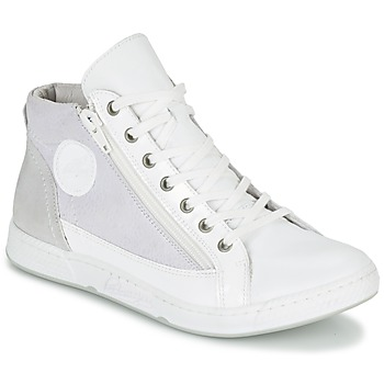 Schuhe Damen Sneaker High Pataugas JANE/BB F2C Weiss
