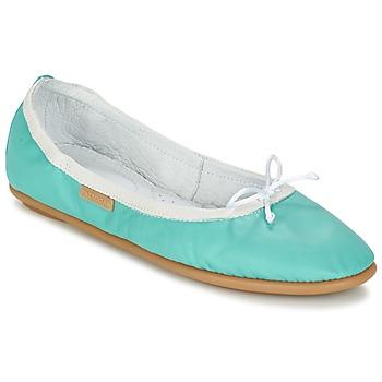 Schuhe Damen Ballerinas Pataugas SANOK F2C Türkis