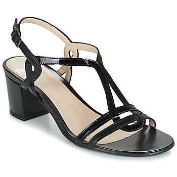 Schuhe Damen Sandalen / Sandaletten Perlato LOABINE Schwarz