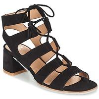 Schuhe Damen Sandalen / Sandaletten Perlato QUEZOKA Schwarz