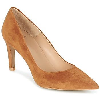 Schuhe Damen Pumps Perlato REVOUTE Camel