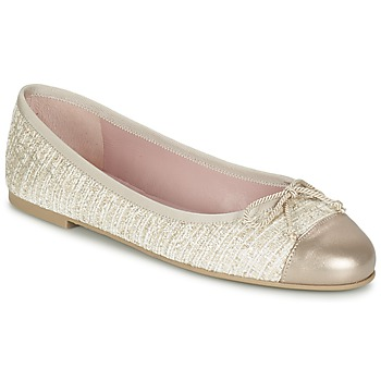 Schuhe Damen Ballerinas Pretty Ballerinas AMI Gold / Rose