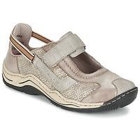 Schuhe Damen Sneaker Low Rieker BIOLORATEIL Maulwurf