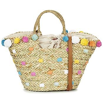 Taschen Damen Shopper / Einkaufstasche Pepe jeans MARLEY Beige / Multifarben