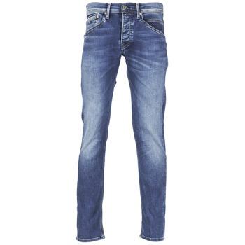 Kleidung Herren Straight Leg Jeans Pepe jeans TRACK Blau