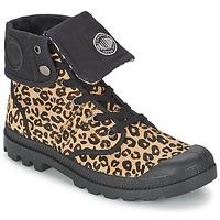 Schuhe Damen Boots Palladium BAGGY PN Leopard
