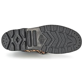 Palladium BAGGY PN Leopard - Kostenloser Versand |  - Schuhe Boots Damen 11196