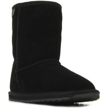 Schuhe Mädchen Boots EMU Wallaby Lo Noir Schwarz
