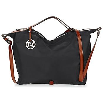 Taschen Damen Handtasche Texier T&T Schwarz