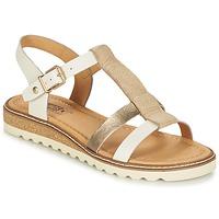 Schuhe Damen Sandalen / Sandaletten Pikolinos ALCUDIA W1L Silbern