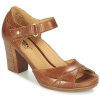 Schuhe Damen Sandalen / Sandaletten Pikolinos JAVA W0K Braun