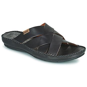 Schuhe Herren Pantoffel Pikolinos TARIFA 06J Schwarz