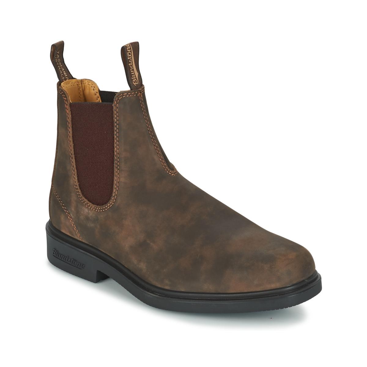Blundstone COMFORT DRESS BOOT Braun - Kostenloser Versand bei Spartoode ! - Schuhe Boots  185,00 €