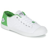 Schuhe Damen Sneaker Low Le Temps des Cerises BASIC 02 Weiss / Grün