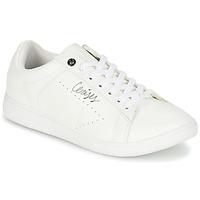 Schuhe Damen Sneaker Low Le Temps des Cerises SACHA Weiss