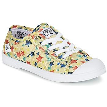 Schuhe Mädchen Sneaker Low Le Temps des Cerises BASIC 02 Gelb