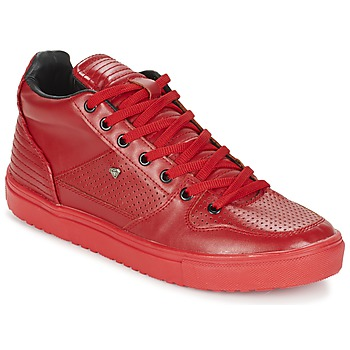Schuhe Herren Sneaker High Cash Money SUNDAY Rot
