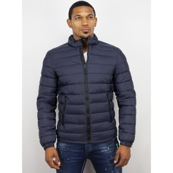 Kleidung Herren Daunenjacken Enos Winterjacken Down Jacke Blau