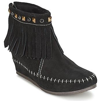 Schuhe Damen Boots Les Tropéziennes par M Belarbi BOLIVIE Schwarz