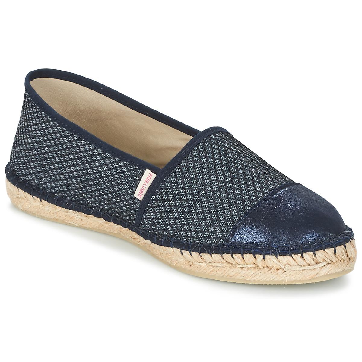 Pare Gabia VP PREMIUM Marine - Kostenloser Versand bei Spartoode ! - Schuhe Leinen-Pantoletten mit gefloch Damen 55,19 €