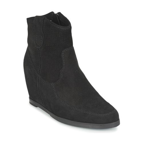 Myma PERFONOIR Schwarz  Schuhe Low Boots Damen 64,50