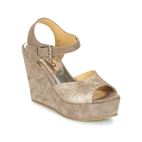 Myma RAPHIA Maulwurf  Schuhe Sandalen / Sandaletten Damen 59,39