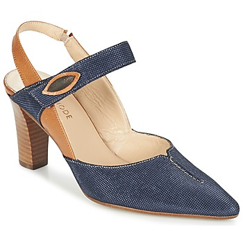 Schuhe Damen Pumps France Mode PASTEL SE TA Braun / Blau