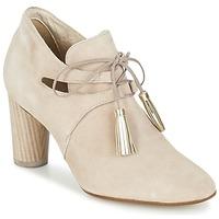 Schuhe Damen Ankle Boots France Mode NANIE SE TA Beige