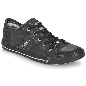 Schuhe Damen Sneaker Low Mustang RUGARL Graphit