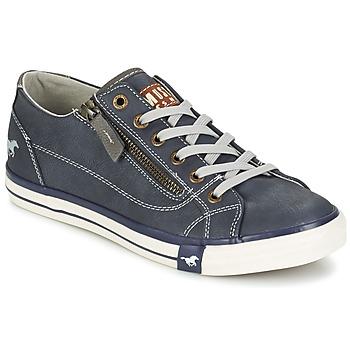 Schuhe Damen Sneaker Low Mustang RAD Marine