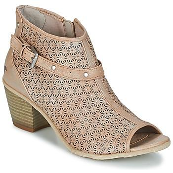 Schuhe Damen Low Boots Mustang CRIARON Maulwurf
