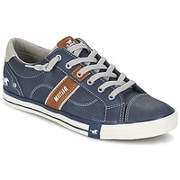 Schuhe Herren Sneaker Low Mustang FALA Marine