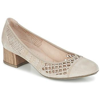 Schuhe Damen Pumps Hispanitas DOUGA Schwarz / Braun