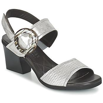 Schuhe Damen Sandalen / Sandaletten Hispanitas DADOMPI Silbern