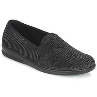 Schuhe Herren Hausschuhe Romika PRESIDENT 122 Schwarz