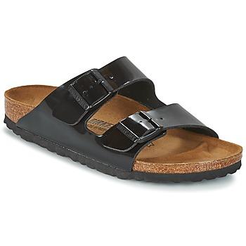 Schuhe Damen Pantoffel Birkenstock ARIZONA Schwarz
