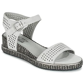 Schuhe Damen Sandalen / Sandaletten Mam'Zelle SELDA Grau