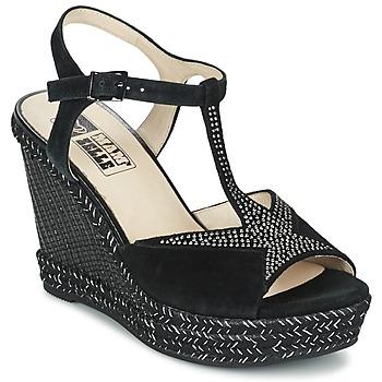 Schuhe Damen Sandalen / Sandaletten Mam'Zelle IMELA Schwarz