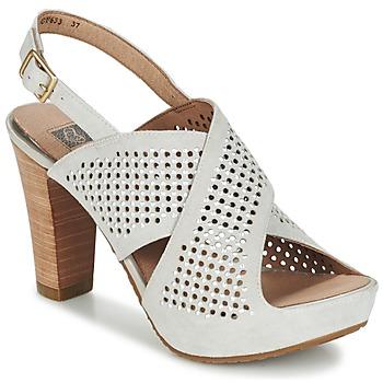 Schuhe Damen Sandalen / Sandaletten Mam'Zelle TADORA Grau