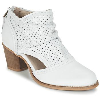 Schuhe Damen Low Boots Dkode BAHAL Weiss