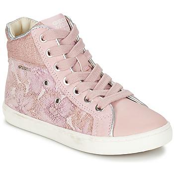 Schuhe Mädchen Sneaker High Geox J KIWI G. H Rose