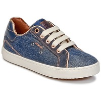 Schuhe Mädchen Sneaker High Geox J KIWI G. B Blau