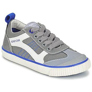 Schuhe Jungen Sneaker Low Geox J KIWI B. J Grau