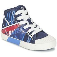Schuhe Jungen Sneaker High Geox J KIWI B. E Marine