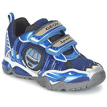Schuhe Jungen Sneaker Low Geox J SHUTTLE B. B Marine