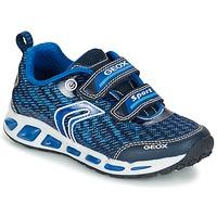 Schuhe Jungen Sneaker Low Geox J SHUTTLE B.A Marine